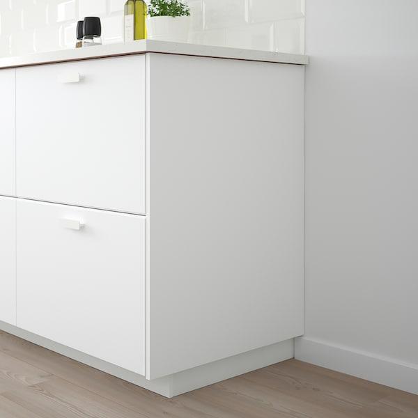 KUNGSBACKA Bedekkingspaneel, mat wit, 62x80 cm