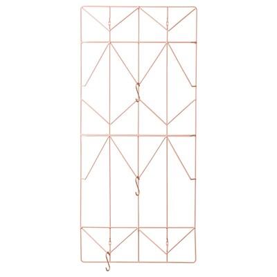 KVICKSUND Memobord, lichtroze, 39x86 cm