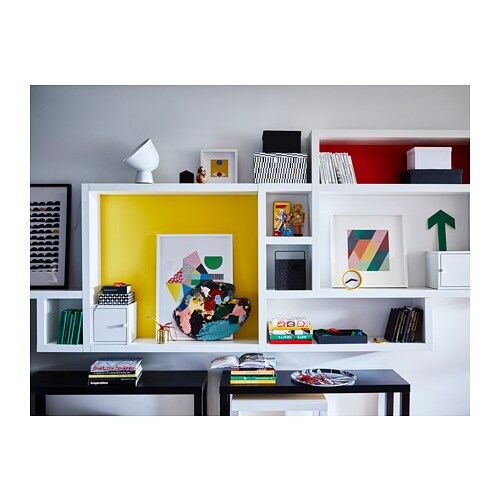 Blinde Wandplank Ikea.Lack Wandplank Wit Ikea