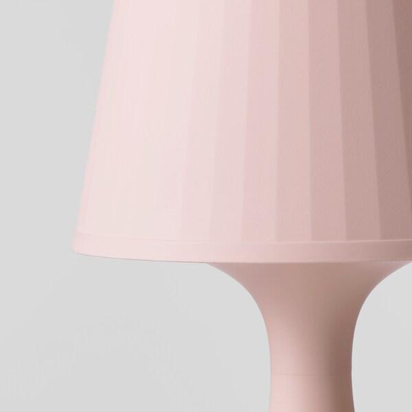 LAMPAN tafellamp lichtroze 40 W 19 cm 29 cm 13 cm 1.3 m