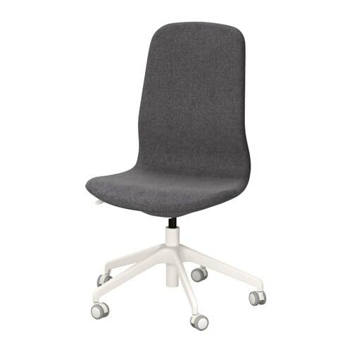Missoni Fabric Covered Bergere Chair: LÅNGFJÄLL Bureaustoel
