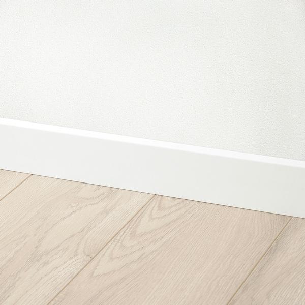 LAVHED Plint, wit, 6x200 cm