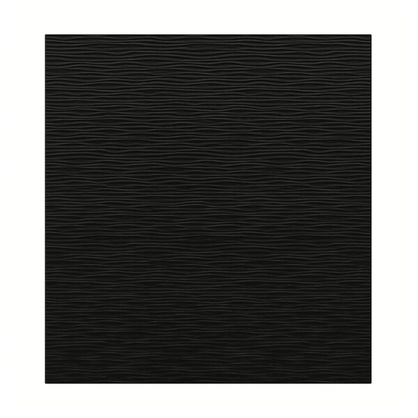 LAXVIKEN deur zwart 60 cm 64 cm 2.0 cm