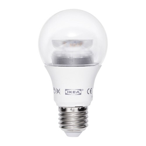Ledare led lamp e27 600 lumen ikea - Ikea led e27 ...