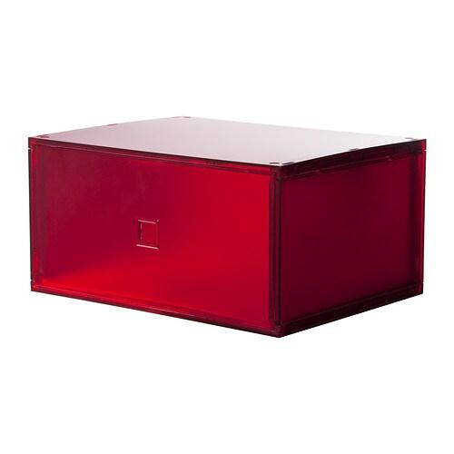 Lekman miniladekast ikea - Kleur rood ruimte ...