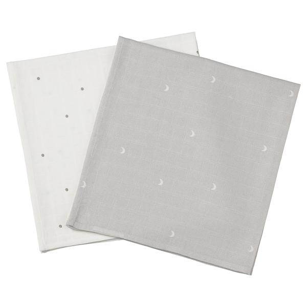 LEN Hydrofielluier, gestippeld/maan, 70x70 cm