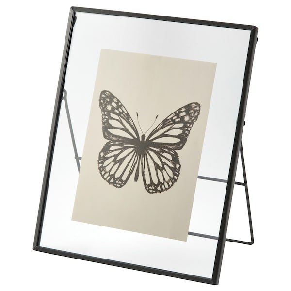LERBODA Fotolijst, donkergrijs, 20x25 cm