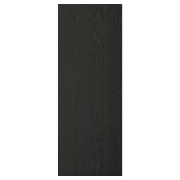 LERHYTTAN Bedekkingspaneel, zwart gelazuurd, 39x105 cm