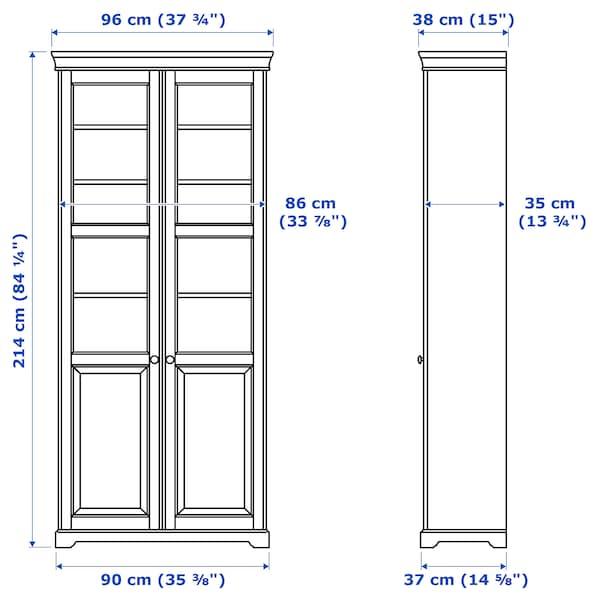 IKEA LIATORP Boekenkast met glazen deur