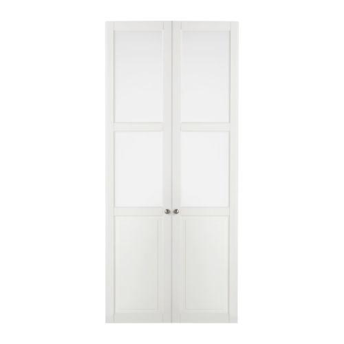 LIATORP Paneel-/vitrinedeur - wit - IKEA