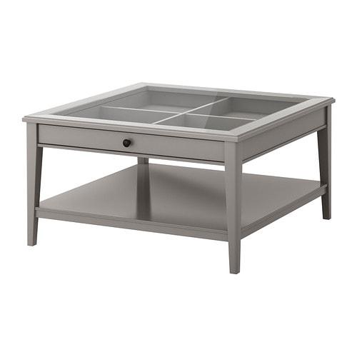 LIATORP Salontafel IKEA Praktische opbergruimte in de tafel. Aparte ...