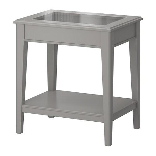 liatorp tafeltje grijs glas ikea. Black Bedroom Furniture Sets. Home Design Ideas