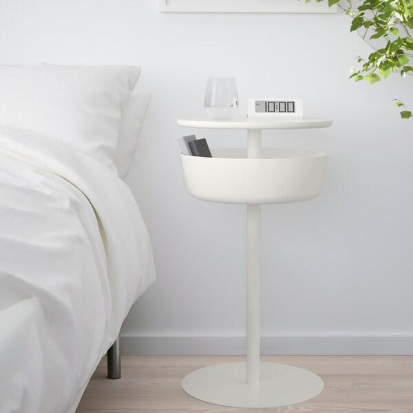 LIERSKOGEN nachtkastje wit 74 cm 42 cm