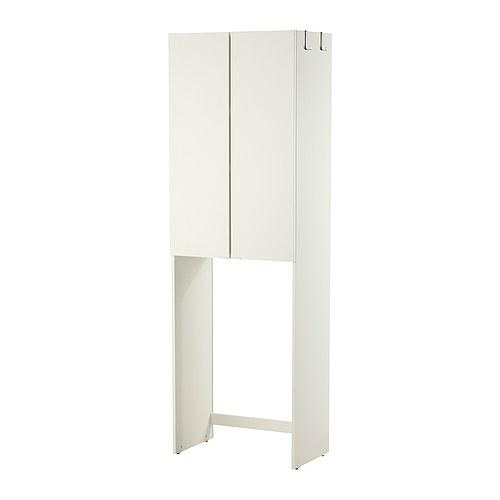 Goedkope Badkamer Ideeen ~ LILL?NGEN Kast voor wasmachine IKEA Verstelbare kunststof doppen