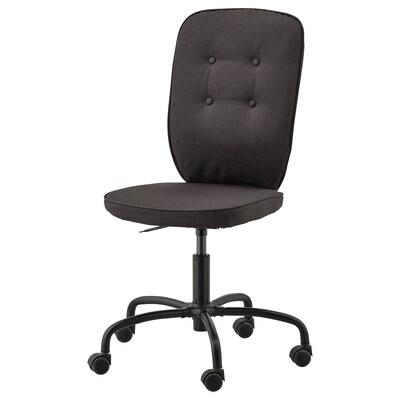 LILLHÖJDEN bureaustoel Idemo zwart 110 kg 70 cm 70 cm 106 cm 44 cm 44 cm 41 cm 52 cm