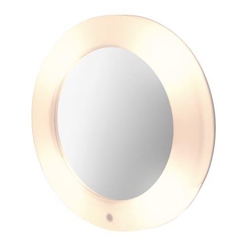 Lilljorm spiegel m ge ntegreerde verlichting ikea - Spiegel badkamer geintegreerde verlichting ...