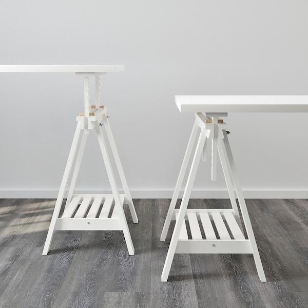 LINNMON / FINNVARD Tafel, wit, 150x75 cm