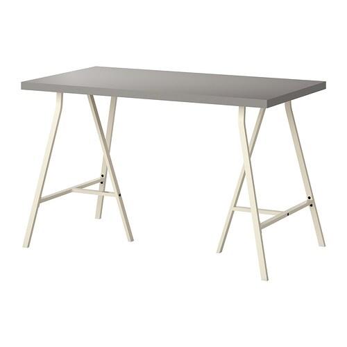 linnmon lerberg tafel grijs wit ikea. Black Bedroom Furniture Sets. Home Design Ideas