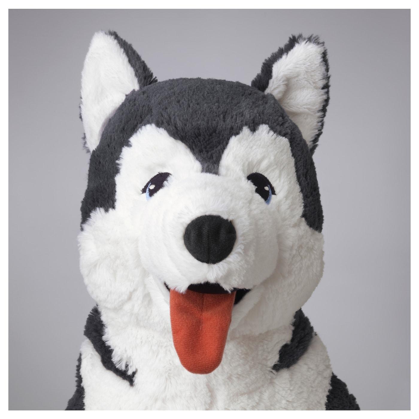 LIVLIG Pluchen speelgoed, hond/Siberische husky, 57 cm