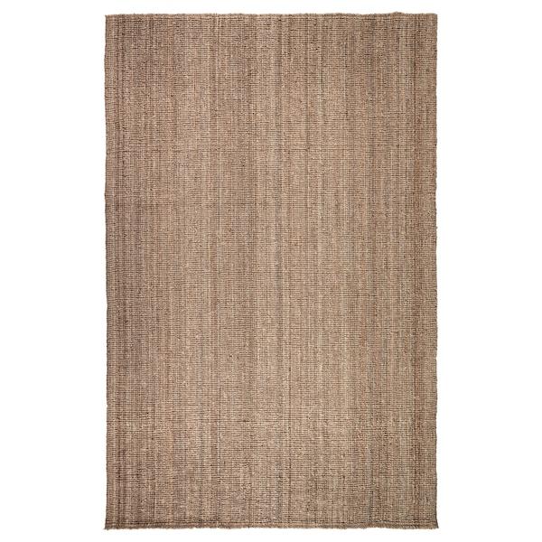 LOHALS Vloerkleed, glad geweven, naturel, 200x300 cm