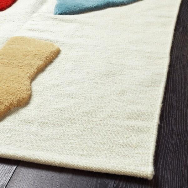 LOKALT Vloerkleed, naturel veelkleurig/handgemaakt, 170x240 cm
