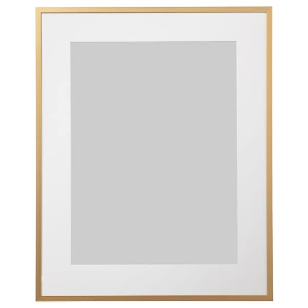 LOMVIKEN Fotolijst, goudkleur, 40x50 cm