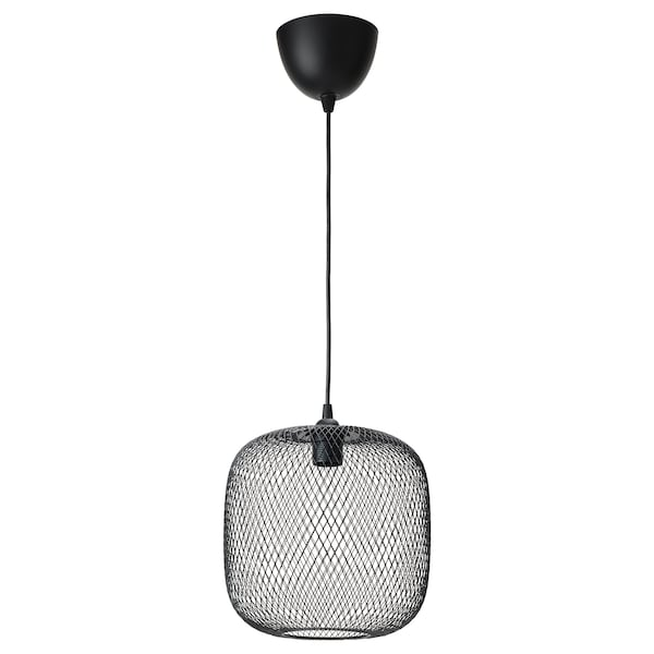 LUFTMASSA / HEMMA hanglamp afgerond/zwart 26 cm