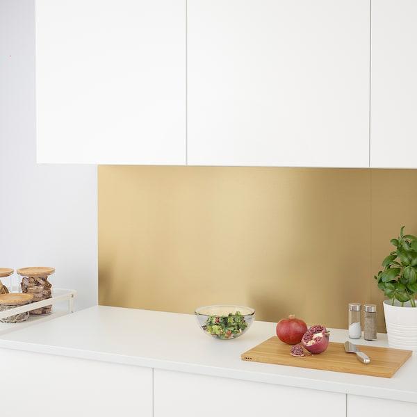 Lysekil Wandpaneel Tweezijdig Messingkleur Roestvrij Staalkleur Ikea