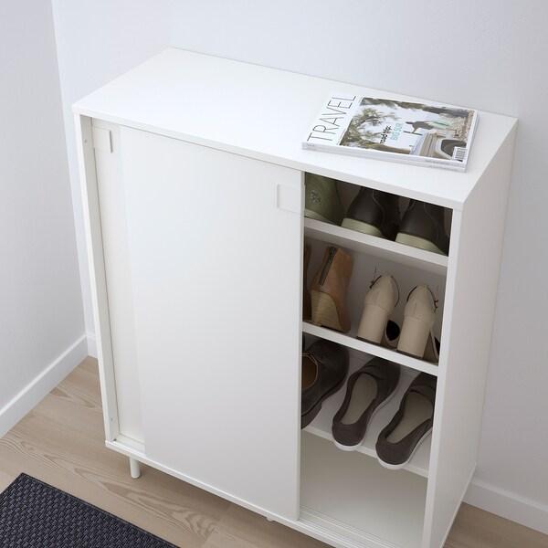 MACKAPÄR schoenenkast/opberger wit 80 cm 35 cm 102 cm