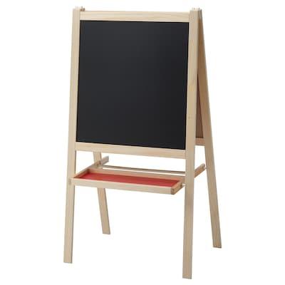 MÅLA tekenbord naaldhout/wit 43 cm 62 cm 118 cm