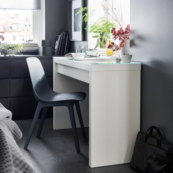 Kaptafel Spiegel Met Verlichting Ikea.Toilettafel Malm Wit