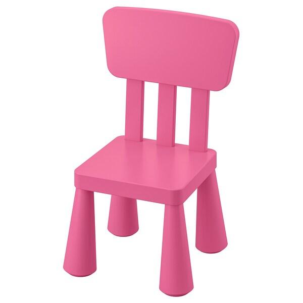 MAMMUT Kinderstoel, binnen/buiten/roze