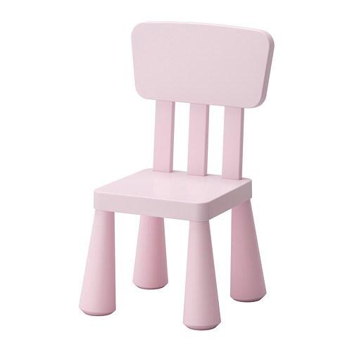 MAMMUT Kinderstoel   binnen  buiten  lichtroze   IKEA