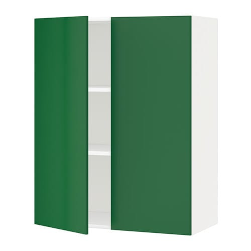 Ikea Keuken Groen : 2 Door Wall Cabinet with Shelves