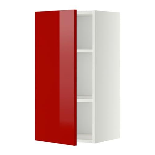 Keuken Rood Ikea : Wall Shelf with Cabinet