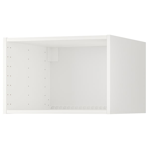 METOD Extra bovenkast koelkast/oven, wit, 60x60x40 cm