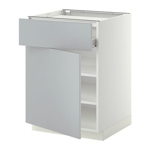 metod f rvara onderkast kookplaat la plank deur wit veddinge grijs ikea. Black Bedroom Furniture Sets. Home Design Ideas