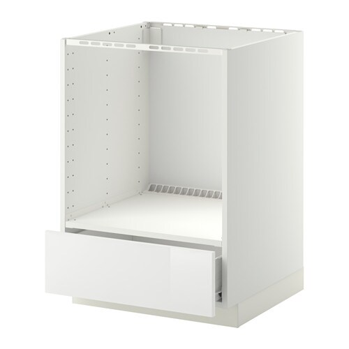 Keuken Hoogglans Wit Ikea : White Drawer Base Cabinet