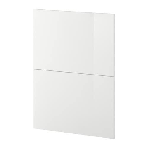 metod 2 fronten voor vaatwasser ringhult hoogglans wit ikea. Black Bedroom Furniture Sets. Home Design Ideas