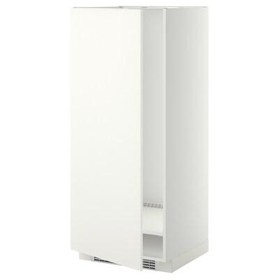 METOD hoge kast voor koelkast/vriezer wit/Häggeby wit 60.0 cm 61.6 cm 148.0 cm 60.0 cm 140.0 cm