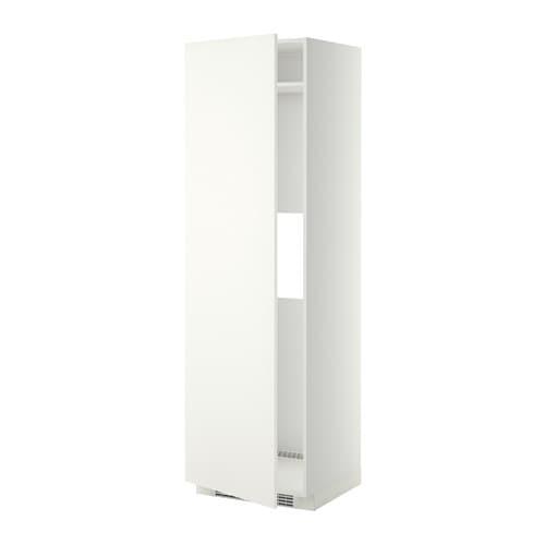 metod hoge kast koelkast of vriezer deur wit h ggeby wit ikea. Black Bedroom Furniture Sets. Home Design Ideas
