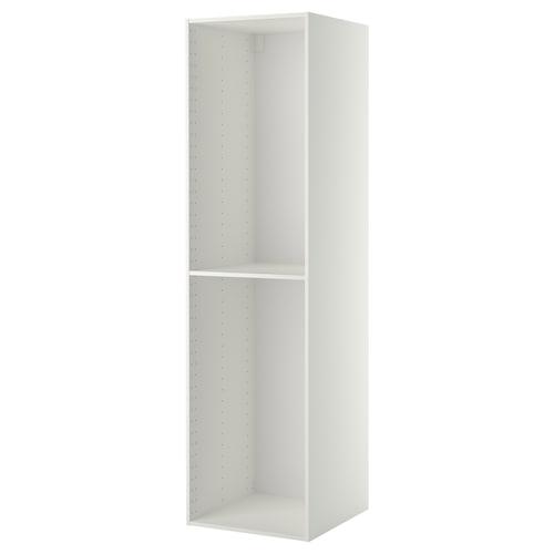 Metod Hoog Kastelement Wit 60x60x220 Cm Ikea