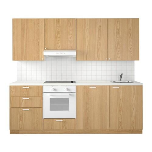 Metod Keuken Wit Maximera Ekestad Eiken