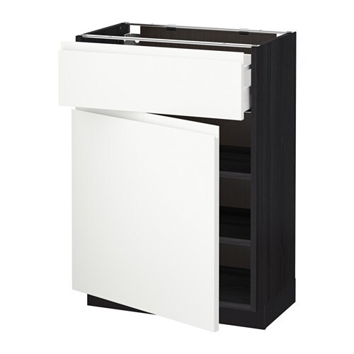 Hoogte Ikea Keuken Metod : Base Cabinet Drawers