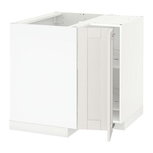 Keuken Carrousel Ikea : METOD Onderhoekkast met carrousel IKEA De planken zijn in de hoogte