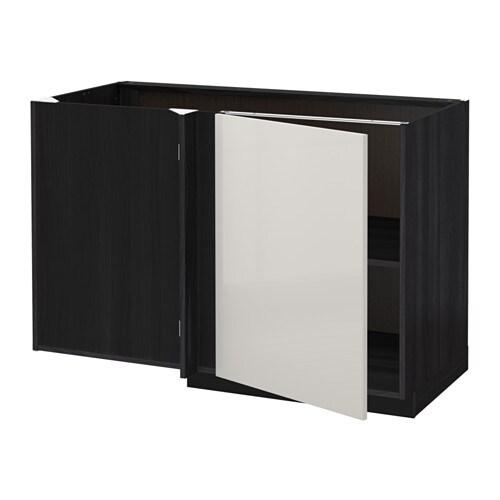 METOD Onderhoekkast met plank IKEA