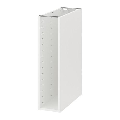 Beroemd METOD Onderkast basiselement - wit, 20x60x80 cm - IKEA LY53