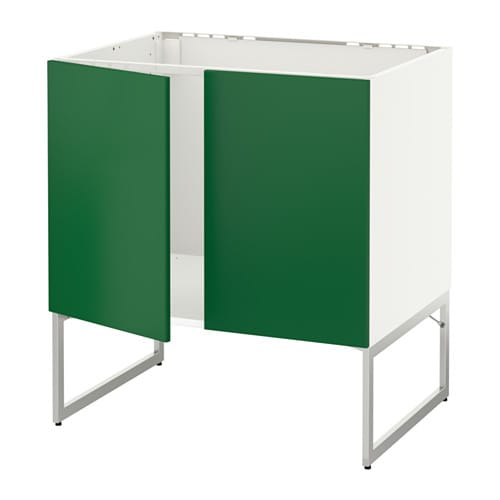Ikea Keuken Groen : IKEA White Kitchen Sink Base Cabinet