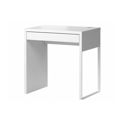 Kleine Computertafel Ikea.Micke Bureau Wit Ikea