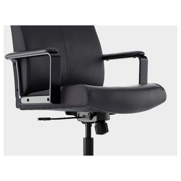 MILLBERGET bureaustoel Bomstad zwart 110 kg 65 cm 123 cm 52 cm 45 cm 45 cm 58 cm